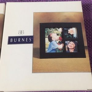 Burnes '3 Picture Black Collage' Frames Lot of 2